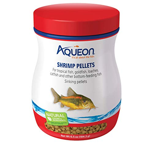 (Aqueon Shrimp Food Pellets, 6-1/2-Ounce)
