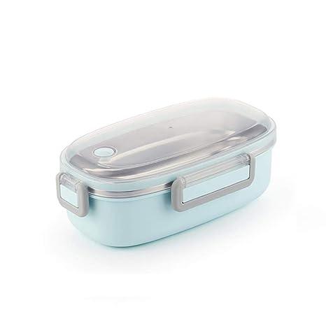 DFEIPING Cute Lunch Box Vajilla de Acero Inoxidable ...