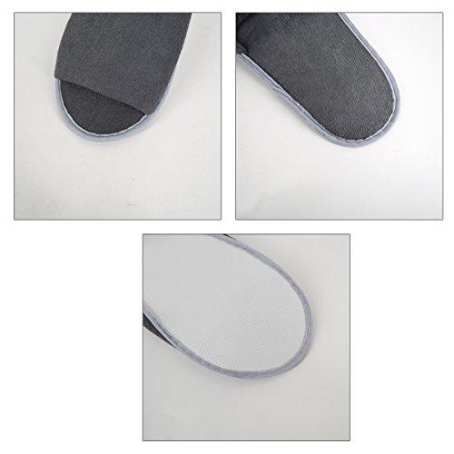 Pantofole Morbide Di Autunno Degli Uomini Di Monique Pantofole Calde Di Autunno Pantofole Calde Di Viaggio Dellhotel Dellhotel Grigio