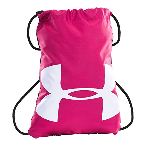 Under Armour Ozsee Sackpack, Tropic Pink/White, One Size