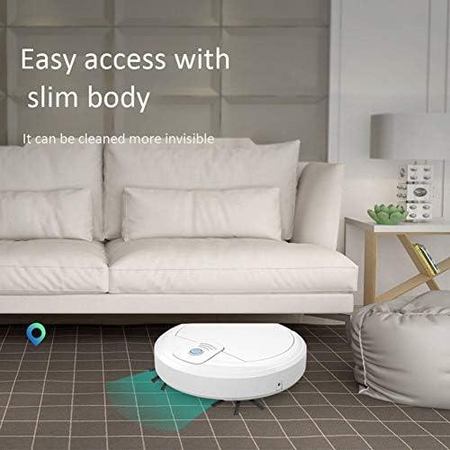 WFFH Aspirateur Robot Intelligent, Nettoyage Automatique étage Sweeper Jouet, Aspirateur Robot, Convient pour sols, carrelages, etc.