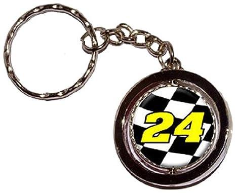 Amazon.com: 24 Número Checkered Bandera Racing Ronda ...