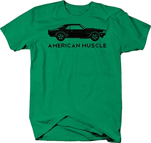 OS Gear American Muscle Chevy Camaro SS 60's 70's Rally Sports Car Tshirt - -