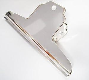 Hongbe Bull Clips Silver Metal Clips Bull Spring Clip X
