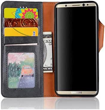 Samsung Galaxy S8 Plus case Phone Wallet Case Credit Card Protector