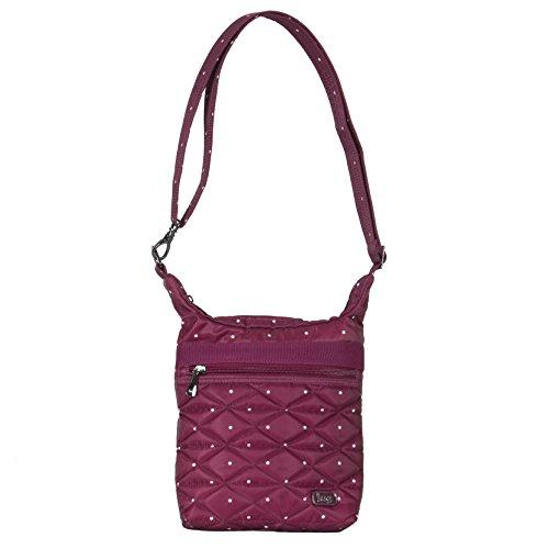 Body Lug Skipper Cranberry Pouch Cross Dot Women's 0 2 Cranberry Bag One Size Shoulder Dot HFTf0wHq
