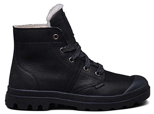 Palladium - Zapatillas de Piel para hombre 001 Negro