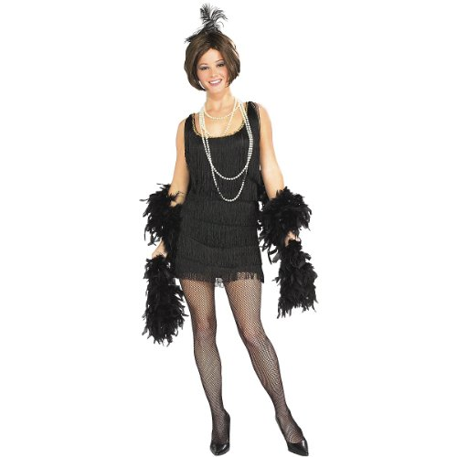 Chicago Costumes (Chicago Flapper Girl Adult Costume)
