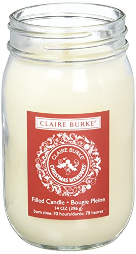Claire Burke Filled Scented Candle, Fresh Royal Fir ()