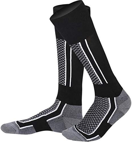 Nsblln Mode Pied Bas Hiver Chaussettes de Ski Thermique /Épaissir Coton Chaud Sport Chaussettes Snowboard Cyclisme Adulte Ski Randonn/ée Chaussettes Jambi/ère