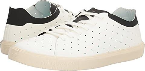 Native Shoes Unisex Monaco Low Shell White/Jiffy Black/Bone White Oxford (Size 8 Native Shoes)