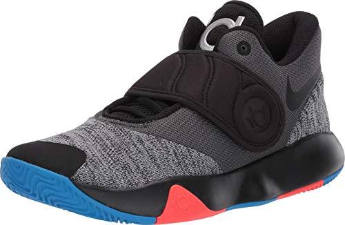 Nike Men's KD Trey 5 VI Basketball Shoe Black/Chrome/Photo Blue/Bright Crimson Size 9.5 M US