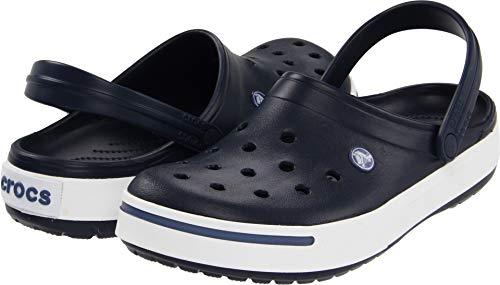 Crocs Men's 11989M Clog,Navy/Bijou Blue,8 M US (Turquoise Women Crocs)