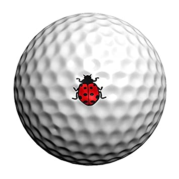 32 Mariquita Golfdotz transferencias de pelota de golf. Golf Dotz ...
