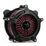 Black Turbine Harley Air filter harley air Cleaner air intake kit...