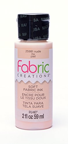 - Fabric Creations Fabric Ink in Assorted Colors (2-Ounce), 25981 Nude