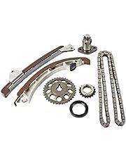 DNJ TK951 Timing Chain Kit 1998-2008/Chevrolet, Pontiac, Toyota/Celica, Corolla, Matrix, MR2 Spyder, Prizm, Vibe/1.8L/DOHC/L4/16V/110cid, 1794cc/1ZZFE/VIN 8