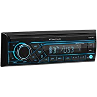 Planet Audio P370MB Single Din, Bluetooth, MP3/USB/SD AM/FM Car Stereo, (No CD/DVD)