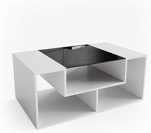 Vicco Mesa de Centro Gabriel 100 cm Blanco: Amazon.es: Hogar