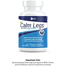 Calm Legs - Restless Legs Relief (RLS) New Easy to Swallow Tablets (60 Tablets)