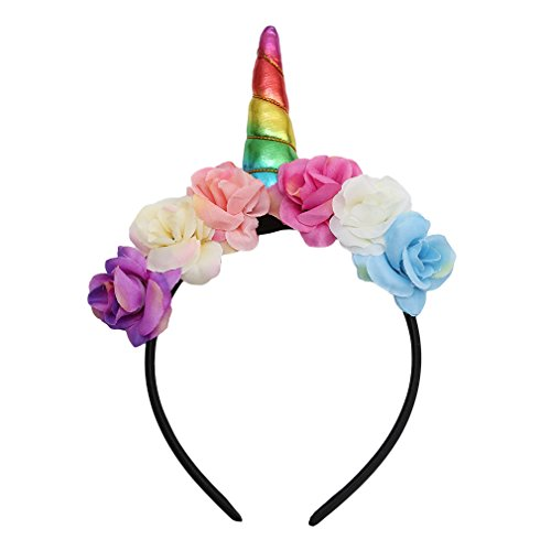 Fast Song Costumes (SONG LIN Kids Halloween Unicorn Headband Princess Unicorn Headdress Christmas Party Hairstyle Hair Accessories (Colorful))