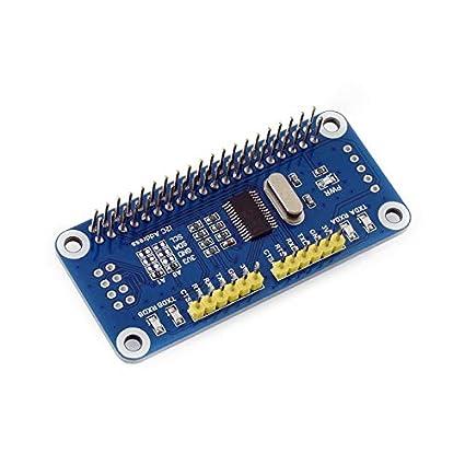 Amazon Com Waveshare Serial Expansion Hat For Raspberry Pi Zero