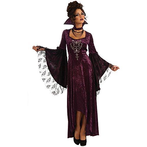 [Violet Vamp Womens Halloween Costume XL (14 - 16)] (Costume Halloween Walmart)