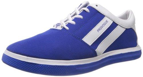 Provogue Men's Blue Canvas Sneakers - 7 UK