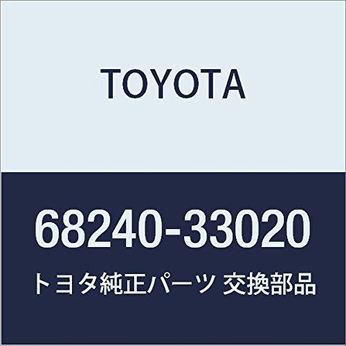 TOYOTA Genuine 68240-33020 Door Glass Weatherstrip Assembly