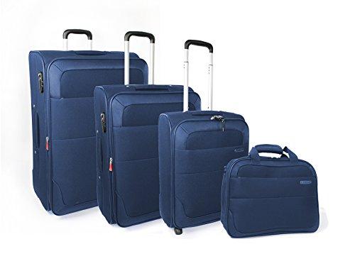 "Roncato Juego de maletas ""set"", Avio (azul) – 42401933"