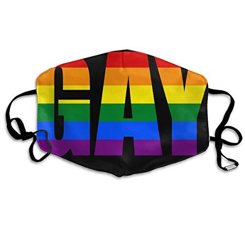 SDQQ6 Rainbow Pride LGBT Mouth Mask Unisex Printed Fashion Face Mask Anti-dust Masks]()