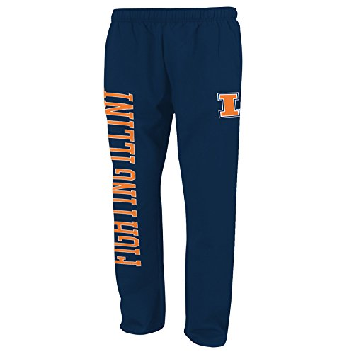 NCAA Illinois Illini TMC Fleece Pant, Na - Illinois Navy Pant Shopping Results