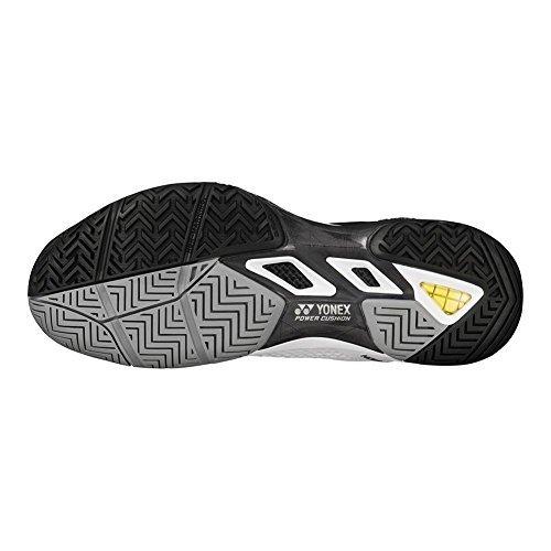 Yonex Power Cushion Eclipsion 2 Mens Tennis Shoe, White/Black (10.5)