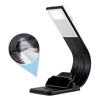 Luces portátiles ligeras de libro de libro USB con lámpara de ...