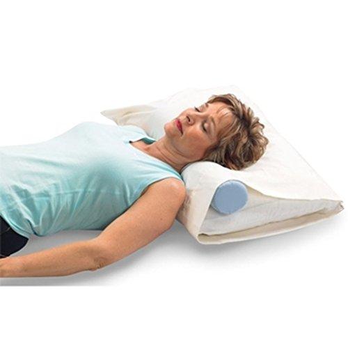 OPTP Original McKenzie Cervical Roll - (703) Almohada para la columna vertebral y el soporte del cuello durante el sueño