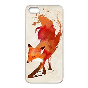 Vulpes Fox Design Top Quality DIY Hard Case Cover for iPhone 5,5S, Vulpes Fox iPhone 5,5S Phone Case