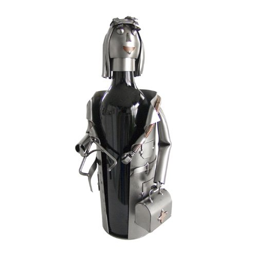 Woman Doctor Wine Bottle (Female Wine Bottle Holder)
