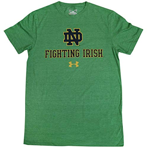 Under Armour Notre Dame Fighting Irish NCAA Mens Legacy Tri-Blend T-Shirt (X-Large)