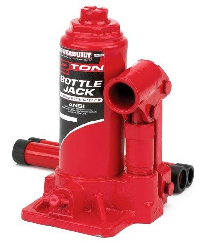 Cylinder Jack - Alltrade Powerbuilt 640405 Heavy Duty 2-Ton Bottle Jack