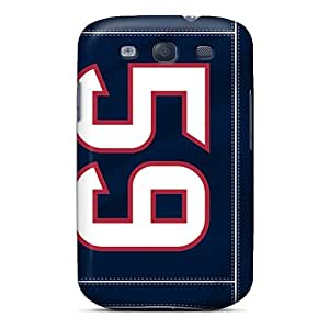 Excellent Hard Phone Case For Samsung Galaxy S3 With Customized Vivid Houston Texans Pattern EricHowe