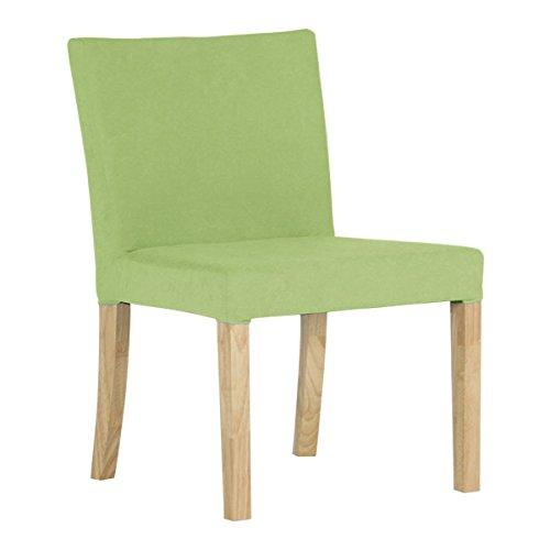 arne ダイニングチェア 北欧 木製 椅子 チェアー 背もたれ 日本製 JOY 【Sサイズ】【肘なしタイプ】【ナチュラル脚】 ソフィア オリーブグリーン B074334FNL Sサイズ/肘なしタイプ オリーブグリーン オリーブグリーン Sサイズ/肘なしタイプ