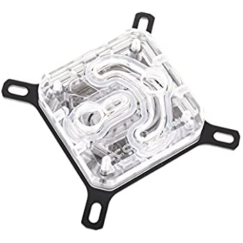 Alphacool Eisblock XPX CPU Waterblock, Polished Clear