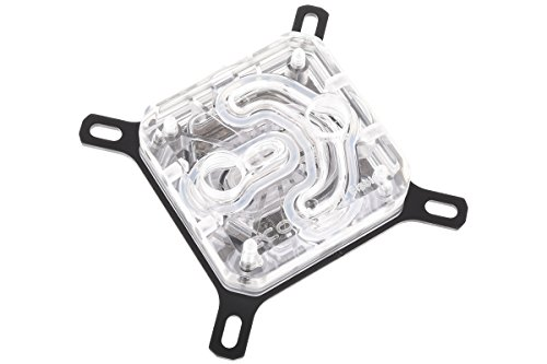 (Alphacool Eisblock XPX CPU Waterblock, Polished Clear)