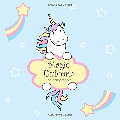 Magic Unicorn Coloring Book: Simple Coloring Pages For Toddlers. Coloring  Book For Kids Ages 2-5: Sirius, Octopus: 9781790565719: Amazon.com: Books