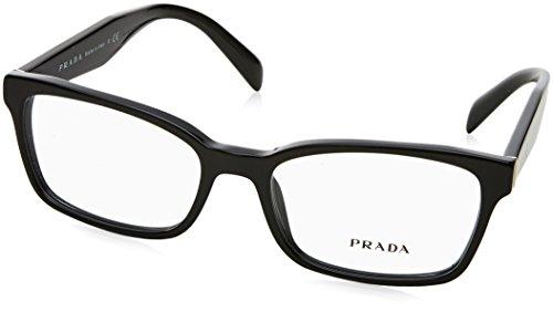 Prada Women's PR 18TV Eyeglasses Black - Prada Optical Eyewear