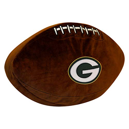 Officially Licensed NFL Green Bay Packers 3D Sports Pillow