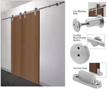 Laguna puerta corredera Hardware Kit de adaptador para puertas de madera: Amazon.es: Bricolaje y herramientas