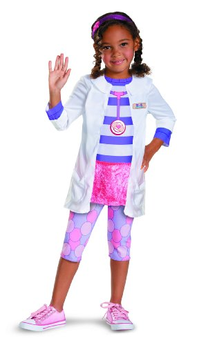 Disguise Girl's Disney Doc McStuffins Classic Costume, 2T (Cute Easy Costumes)