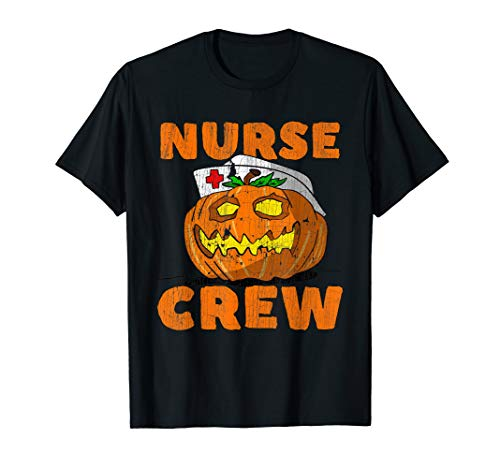 Homemade Halloween Costume Ideas High School (Halloween Pumpkin nurse Crew costume gift idea)
