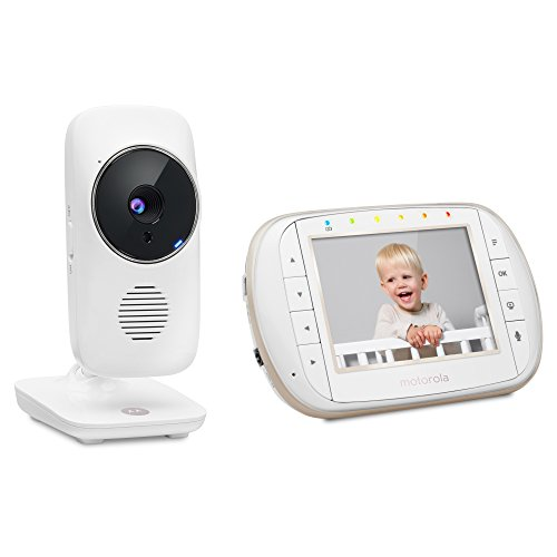 Motorola MBP668CONNECT Wi-Fi Baby 3.5-inch Color LCD Screen